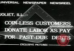 Image of new store built Joliet Illinois USA, 1932, second 3 stock footage video 65675068207