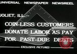 Image of new store built Joliet Illinois USA, 1932, second 4 stock footage video 65675068207
