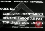 Image of new store built Joliet Illinois USA, 1932, second 6 stock footage video 65675068207