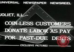 Image of new store built Joliet Illinois USA, 1932, second 11 stock footage video 65675068207