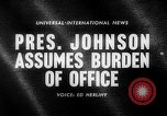 Image of Lyndon B Johnson United States USA, 1963, second 5 stock footage video 65675068208