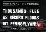 Image of flood Pittsburgh Pennsylvania USA, 1936, second 7 stock footage video 65675068212