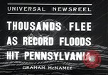Image of flood Pittsburgh Pennsylvania, 1936, second 8 stock footage video 65675068212