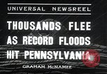 Image of flood Pittsburgh Pennsylvania USA, 1936, second 9 stock footage video 65675068212