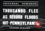 Image of flood Pittsburgh Pennsylvania, 1936, second 10 stock footage video 65675068212