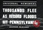 Image of flood Pittsburgh Pennsylvania USA, 1936, second 11 stock footage video 65675068212
