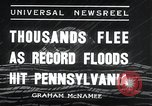 Image of flood Pittsburgh Pennsylvania, 1936, second 12 stock footage video 65675068212
