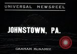 Image of flood Johnstown Pennsylvania USA, 1936, second 2 stock footage video 65675068213