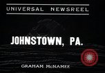 Image of flood Johnstown Pennsylvania USA, 1936, second 3 stock footage video 65675068213