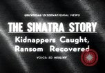 Image of Frank Sinatra Jr kidnapping Canoga Park Los Angeles, 1963, second 2 stock footage video 65675068215