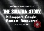 Image of Frank Sinatra Jr kidnapping Canoga Park Los Angeles, 1963, second 3 stock footage video 65675068215