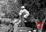 Image of tightrope walking India, 1938, second 9 stock footage video 65675068236
