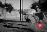 Image of Recruits wrestling at an Indian Army camp India, 1938, second 11 stock footage video 65675068241