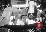 Image of elephant ride India, 1938, second 5 stock footage video 65675068242