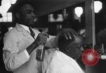 Image of barber Harlem New York City USA, 1930, second 11 stock footage video 65675068244