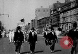 Image of Harlem residents in late 1930s Harlem New York City USA, 1938, second 7 stock footage video 65675068254