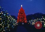 Image of National Christmas Tree Washington DC USA, 1971, second 9 stock footage video 65675068261