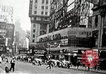 Image of Times Square neon signs and theaters New York United States USA, 1939, second 8 stock footage video 65675068263