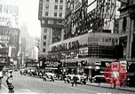 Image of Times Square neon signs and theaters New York United States USA, 1939, second 9 stock footage video 65675068263