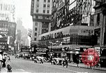 Image of Times Square neon signs and theaters New York United States USA, 1939, second 10 stock footage video 65675068263