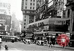 Image of Times Square neon signs and theaters New York United States USA, 1939, second 11 stock footage video 65675068263