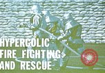 Image of fire fighting drill United States USA, 1971, second 3 stock footage video 65675068264