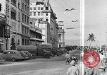 Image of buildings and market Singapore, 1946, second 9 stock footage video 65675068276