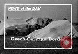 Image of refugee camp Europe, 1937, second 2 stock footage video 65675068283