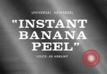Image of Instant Banana peel United States USA, 1967, second 1 stock footage video 65675068305