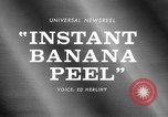 Image of Instant Banana peel United States USA, 1967, second 2 stock footage video 65675068305
