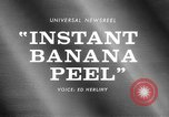 Image of Instant Banana peel United States USA, 1967, second 3 stock footage video 65675068305