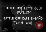Image of Battle of Cape Engaño Pacific Ocean, 1946, second 2 stock footage video 65675068316