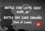 Image of Battle of Cape Engaño Pacific Ocean, 1946, second 3 stock footage video 65675068316