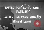 Image of Battle of Cape Engaño Pacific Ocean, 1946, second 4 stock footage video 65675068316