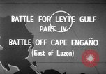 Image of Battle of Cape Engaño Pacific Ocean, 1946, second 5 stock footage video 65675068316