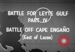 Image of Battle of Cape Engaño Pacific Ocean, 1946, second 6 stock footage video 65675068316