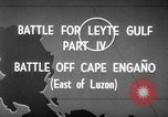 Image of Battle of Cape Engaño Pacific Ocean, 1946, second 7 stock footage video 65675068316