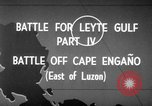 Image of Battle of Cape Engaño Pacific Ocean, 1946, second 8 stock footage video 65675068316
