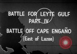 Image of Battle of Cape Engaño Pacific Ocean, 1946, second 9 stock footage video 65675068316