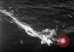 Image of Battle of Leyte Gulf Pacific Ocean, 1945, second 4 stock footage video 65675068321