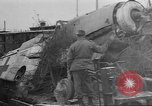 Image of damaged rail yards Nuremberg Germany, 1945, second 3 stock footage video 65675068328