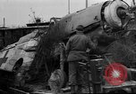 Image of damaged rail yards Nuremberg Germany, 1945, second 4 stock footage video 65675068328