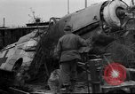 Image of damaged rail yards Nuremberg Germany, 1945, second 5 stock footage video 65675068328