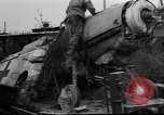 Image of damaged rail yards Nuremberg Germany, 1945, second 12 stock footage video 65675068328