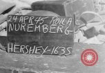 Image of damaged rail yards Nuremberg Germany, 1945, second 1 stock footage video 65675068329
