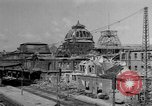 Image of damaged rail yards Nuremberg Germany, 1945, second 4 stock footage video 65675068329