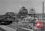 Image of damaged rail yards Nuremberg Germany, 1945, second 6 stock footage video 65675068329