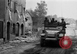 Image of armored columns Dinkelsbuhl Germany, 1945, second 4 stock footage video 65675068330