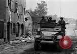 Image of armored columns Dinkelsbuhl Germany, 1945, second 5 stock footage video 65675068330