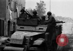 Image of armored columns Dinkelsbuhl Germany, 1945, second 7 stock footage video 65675068330
